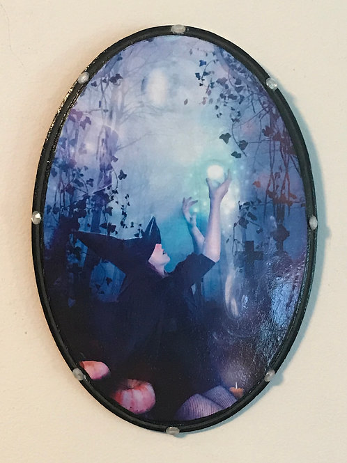 Mystic Witch Hanging Plaque