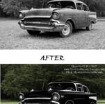 Car Photo Restoration Example