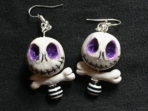 Skully Boy Earrings