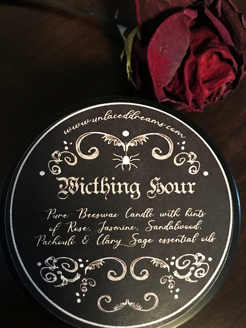 Witching Hour Scented Beeswax Candle