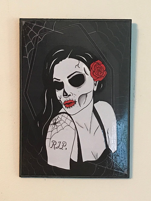 Deadly Pinup Hanging Plaque