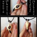 Ravens Skull Necklace