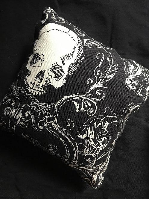 Mini Skull Pillow
