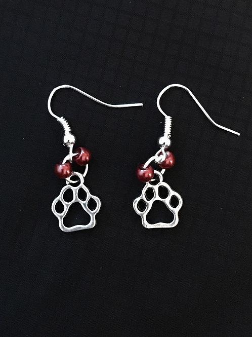 Petite Paw Earrings