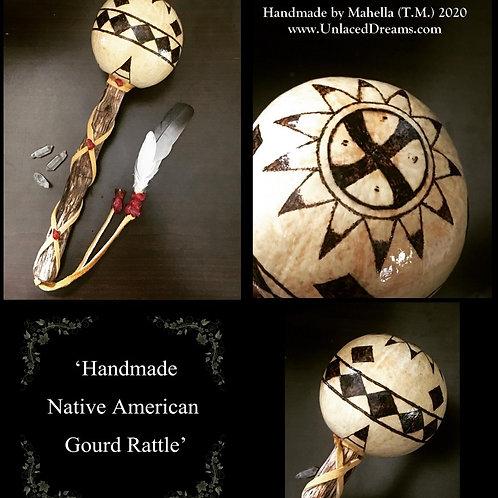 Handmade Gourd Rattle