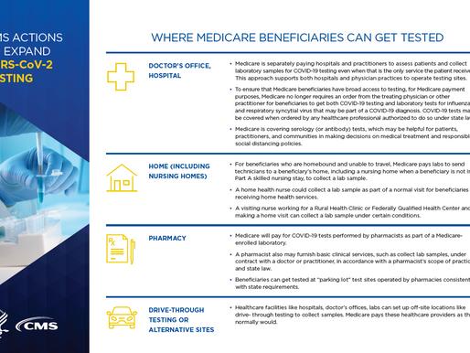 CMS announces Medicare reimbursement for audio-only services during COVID-19