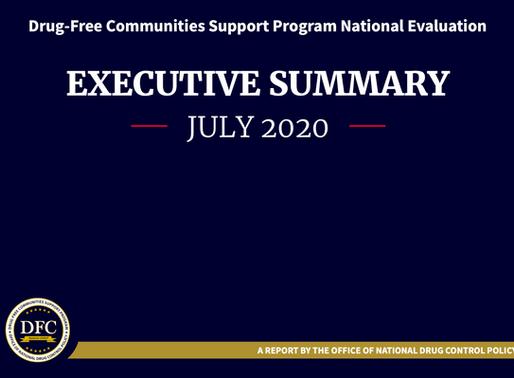 ONDCP releases annual evaluation of Drug-Free Communities program