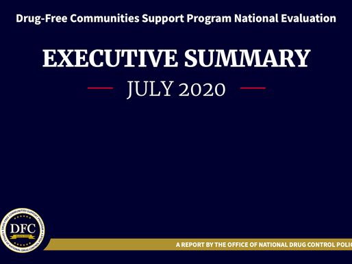 ONDCP releases annual evaluation of Drug-Free Communities program
