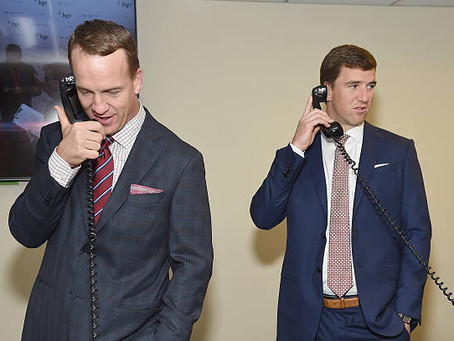 Eli & Peyton Manning Recently Launched an NFT Collection
