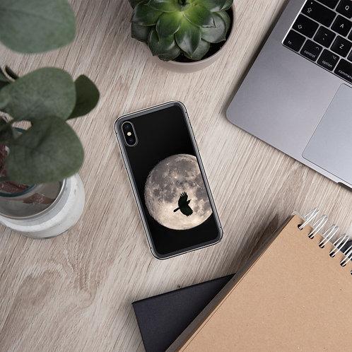 Moon Peek - iPhone Case