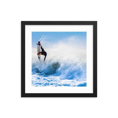 Wave Rush - Framed poster