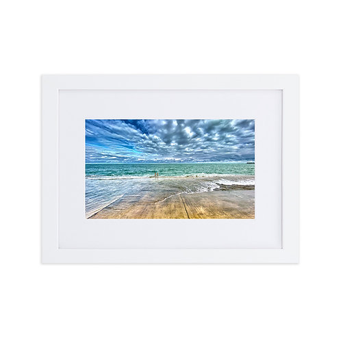 Love Lake - Matte Paper Framed Poster With Mat