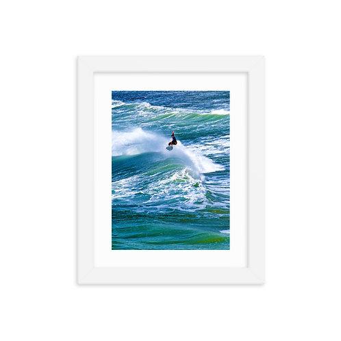 Tropical Wave - Framed poster