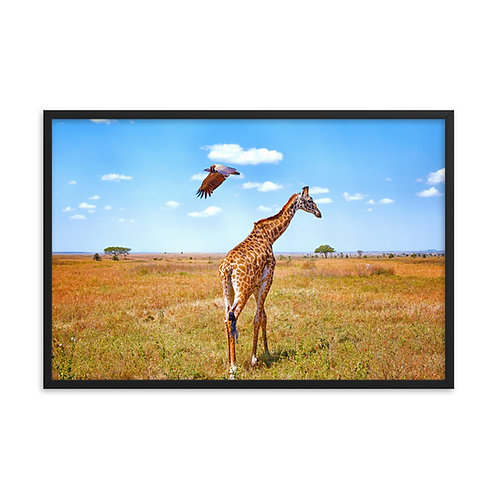 Walks of Life - Framed photo paper poster