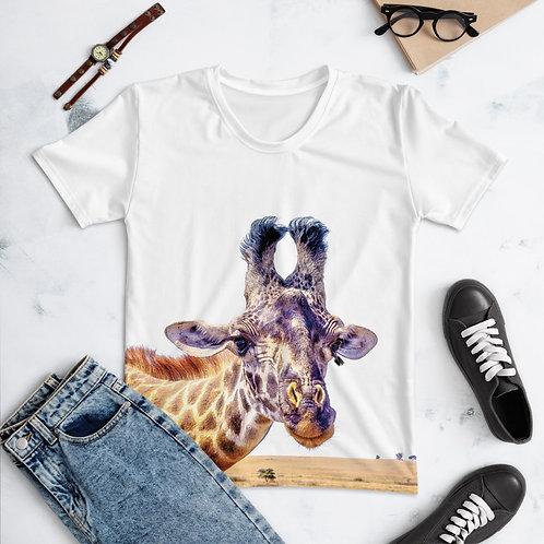 Flirty Giraffe - Women's T-shirt