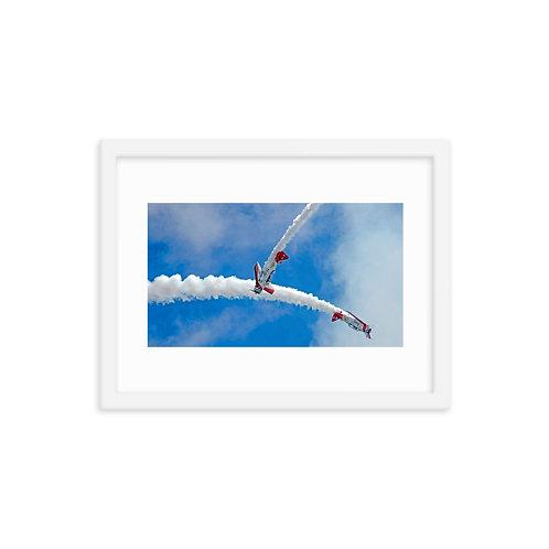 Air Show - Framed poster