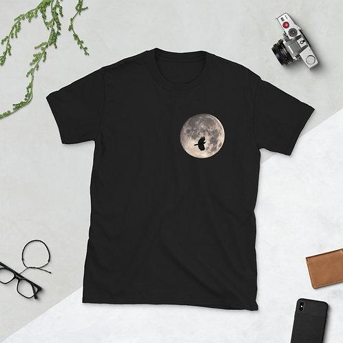 Moon Peek - Short-Sleeve Unisex T-Shirt