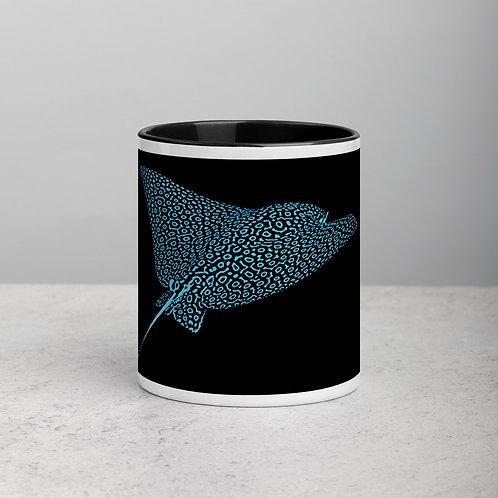 Blue Ray - Mug with Color Inside