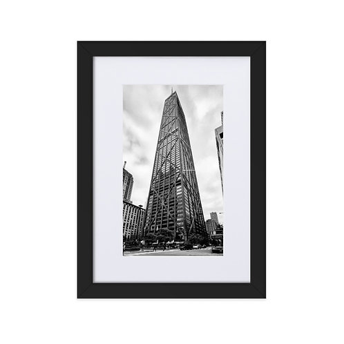 Epic and In Between- Matte Paper Framed Poster With Mat