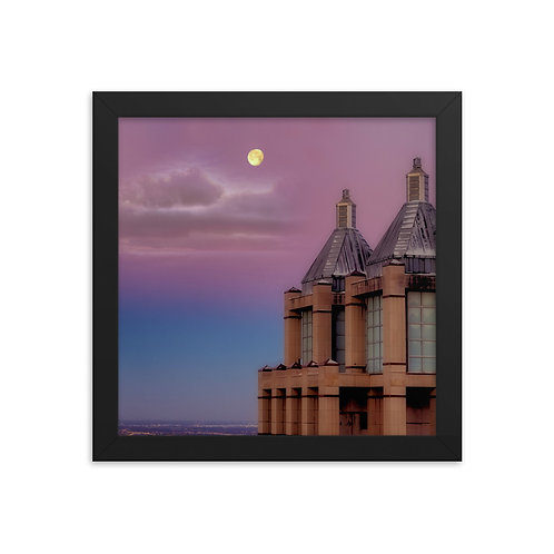 Cotton Candy Sky -Framed photo paper poster