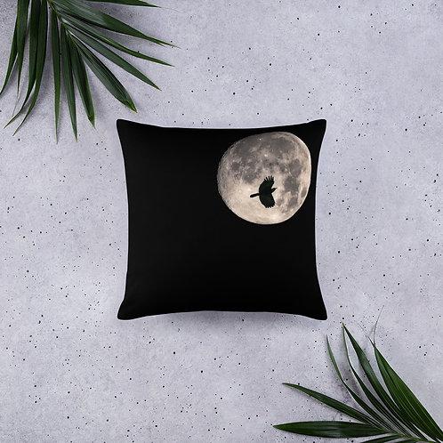 Moon Peek Pillow