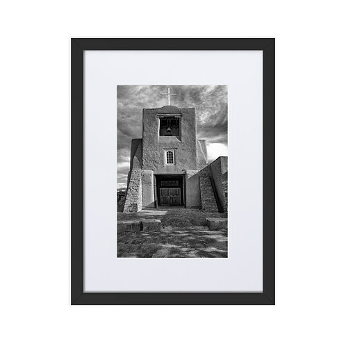 Angles of Faith - Matte Paper Framed Poster With Mat