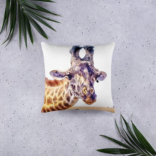 Flirty Giraffe Pillow