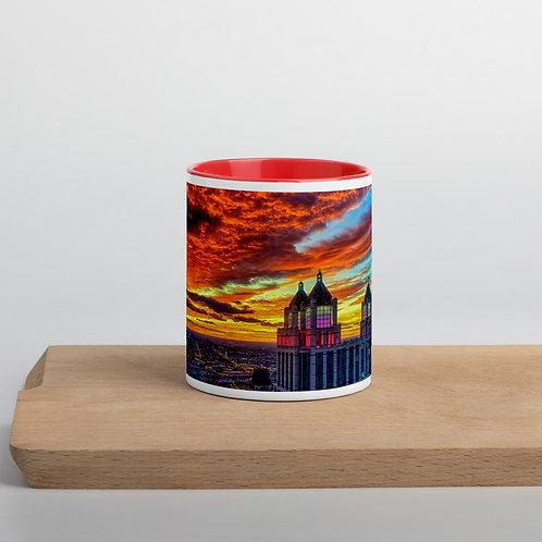 Grapefruit Sunset - Mug with Color Inside