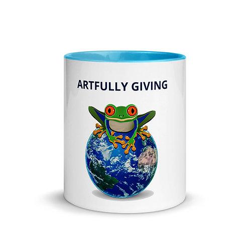 ARTFULLY GIVING - Mug with Color Inside