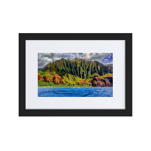 Majestic Heights - Matte Paper Framed Poster With Mat