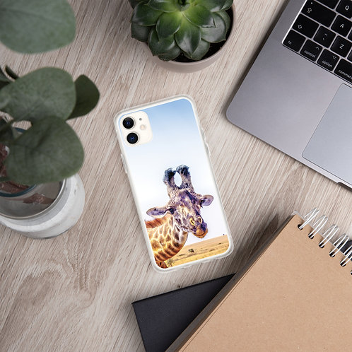 Flirty Giraffe iPhone Case