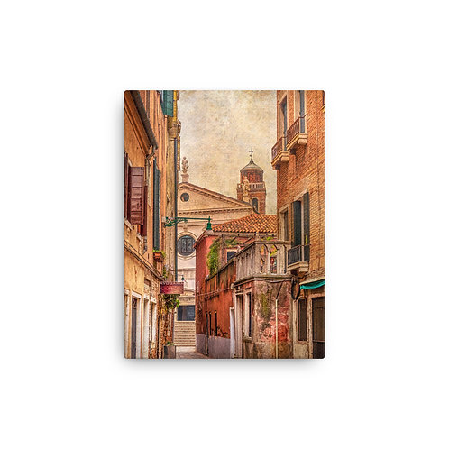 Backstreet Views - Canvas