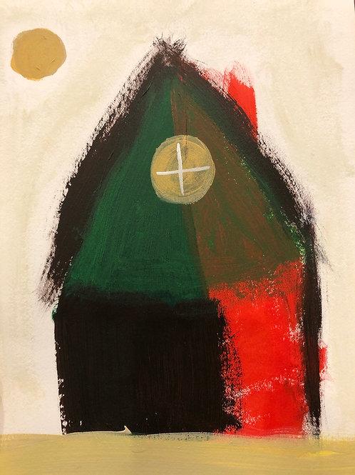 """Barn House - 8.5"""" x 11"""""""