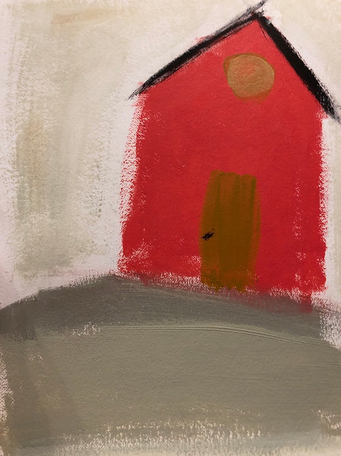"""Prairie House - 8.5"""" x 11"""""""