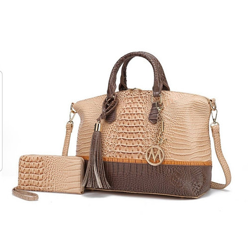 MKF Collection Giselle Tote Bag with Wallet