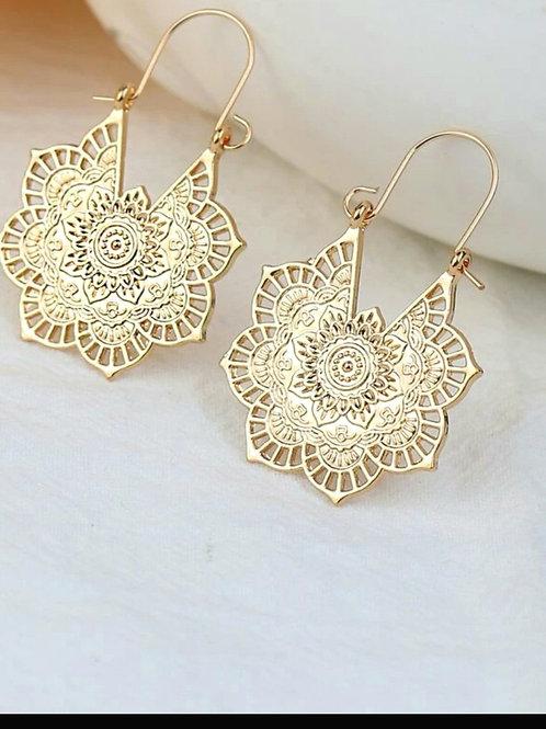 Flower Boho Earrings