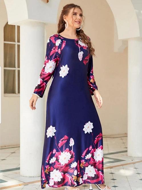Floral Print Boho Dress