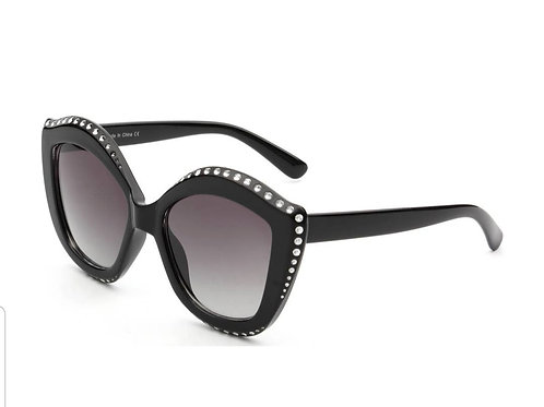 Cat Eye Rhinestone Sunglasses