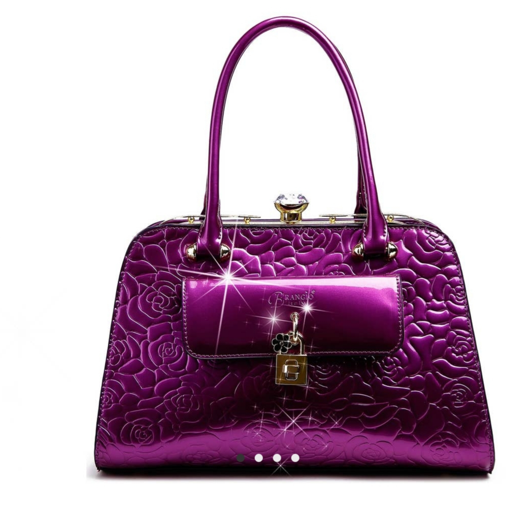 Purple Hand Bag