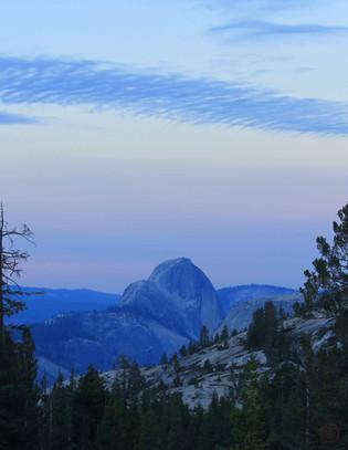 Half Dome in Blue (Yosemite National Park)