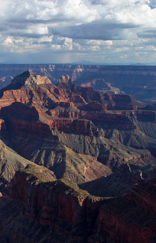 Storm and Shadow (Grand Canyon National Park)
