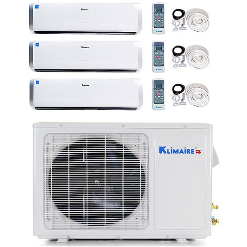 Klimaire Mini Split 12000 + 18000 + 18000