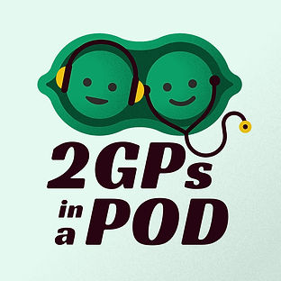 2 GPs in a Pod logo