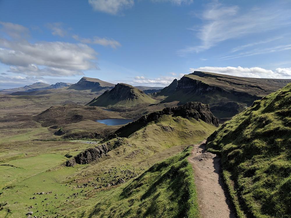 Quiraing Trail, Skye