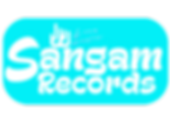 sangam records logo love music blue.png