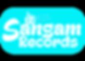 sangam records logo love music blue.png