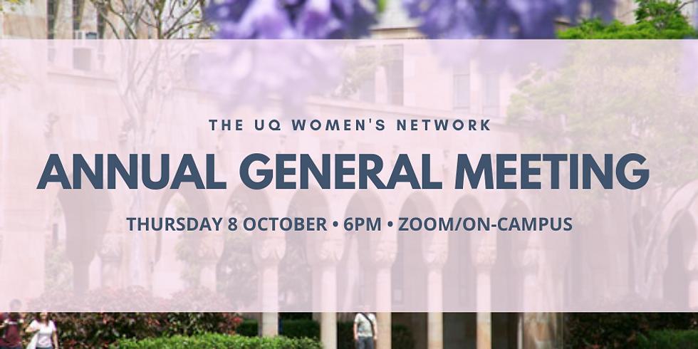 UQWN Annual General Meeting 2020