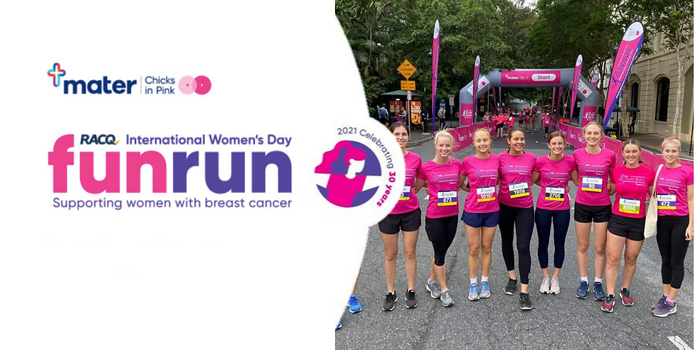 UQWN X RACQ International Women's Day Fun Run