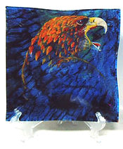 golden eagle bradly macdonald cree artist