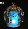 snowman christmas globe